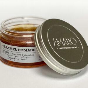 Deze Amaro Caramel Pomade is heerlijk ruikend